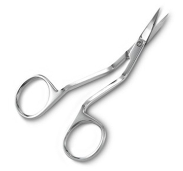 "Picture of 4"" MULTI-ANGLED SCISSORS - POINTED TIP"